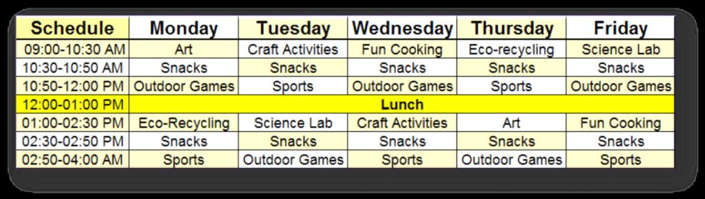 scheduleprogram